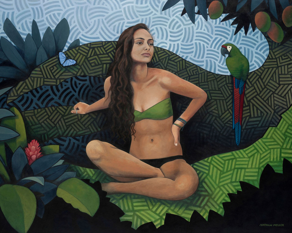 Natural Beauty - Art by Nathan Miller