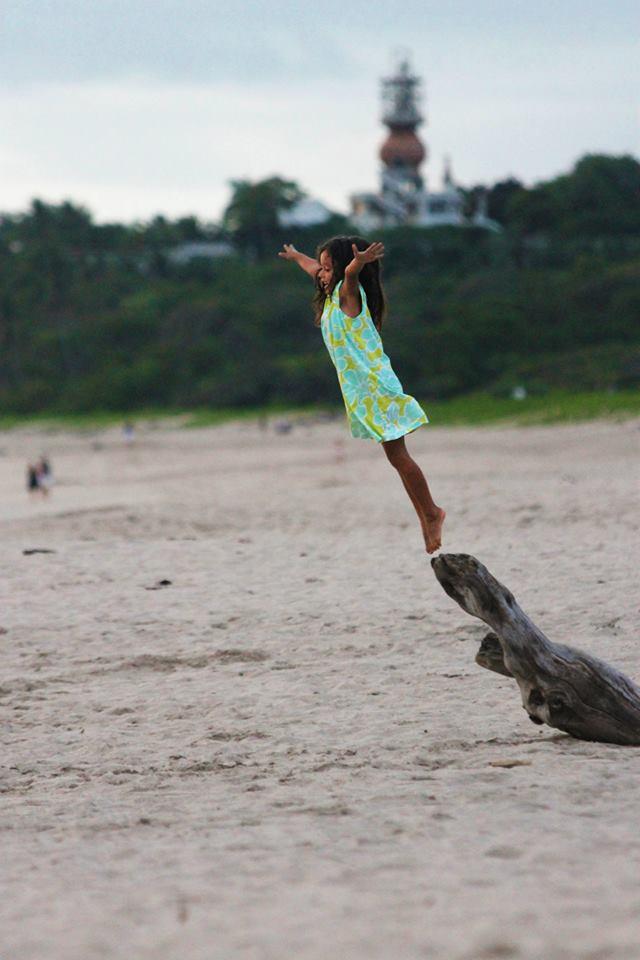 Girl Flying Free