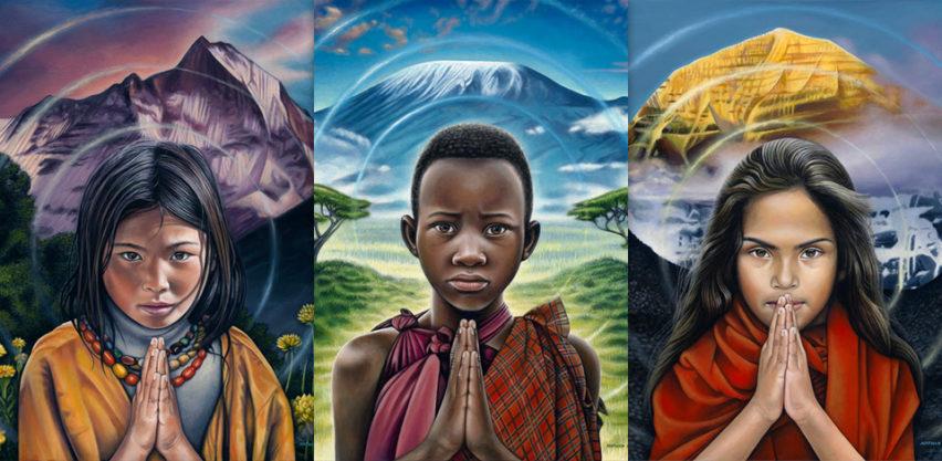 Nathan Miller Art - Oneness Series