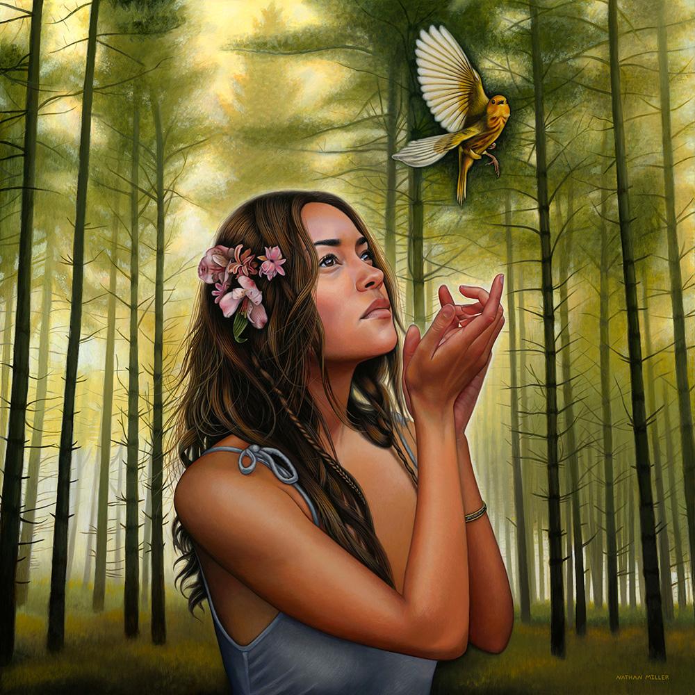 Free Spirit - Art by Nathan Miller