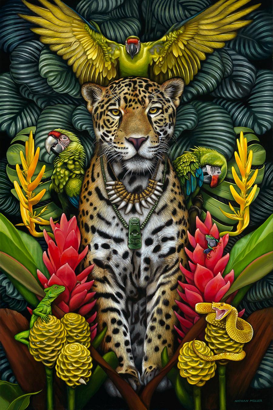 Legend of the Jaguar Shaman - Art by Nathan Miller