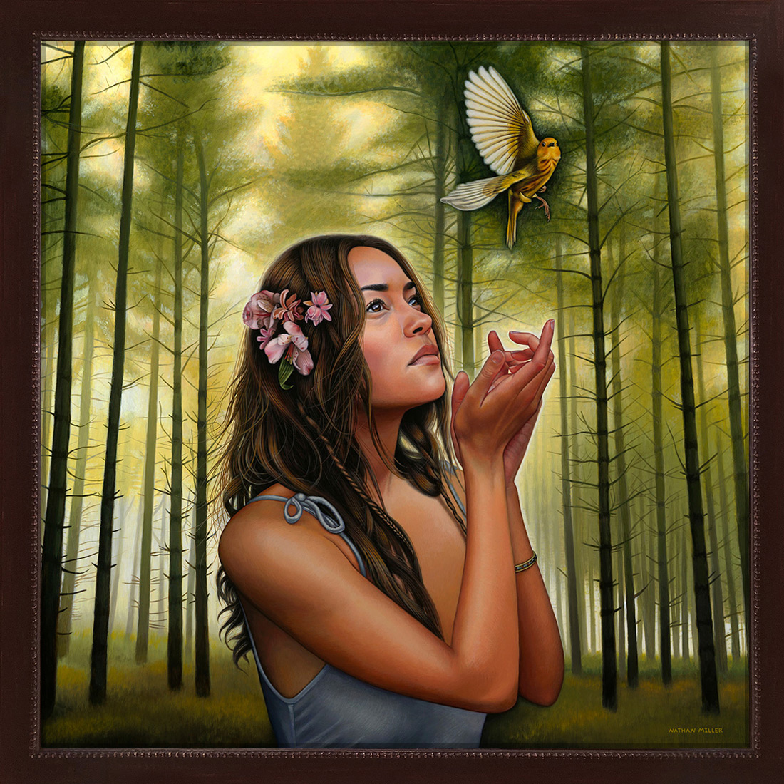 Free Spirit Original - Art by Nathan Miller